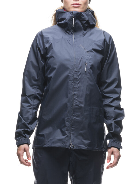 Houdini W's 4Ace Jacket Outer Blue